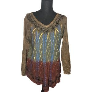 3/$30 Greater Good women's blouse size S/M BNWT